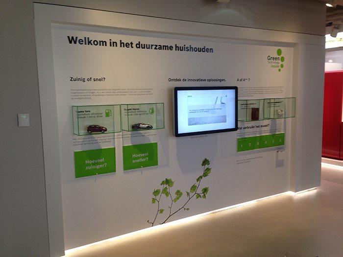 Interactive exhibits for bosch aram leeuw for Bosch inspiratiehuis