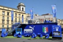 PUMA Italia football pop-up store